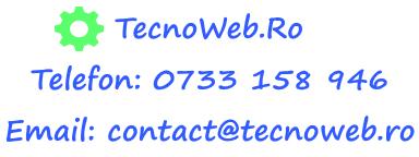 TecnoWeb – Servicii Web Profesionale,Gazduire Web,Webdesign,la cele mai mici preturi